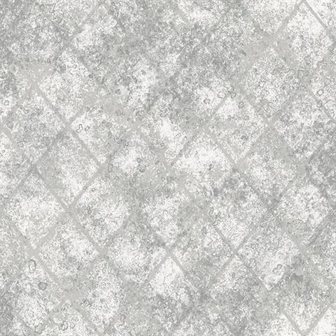 Mercury Glass Silver Distressed Metallic 2701 22326