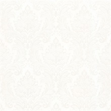 Mercutio White Damask
