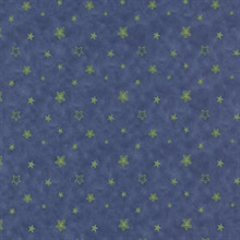 Merlin Dark Blue Stars Wallpaper