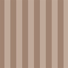 Metallic Rose Gold and Pink Matte Shiny Emboss Stripe Prepasted Wallpa