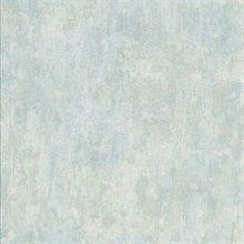 Micah Seafoam Distressed Texture Wallpaper