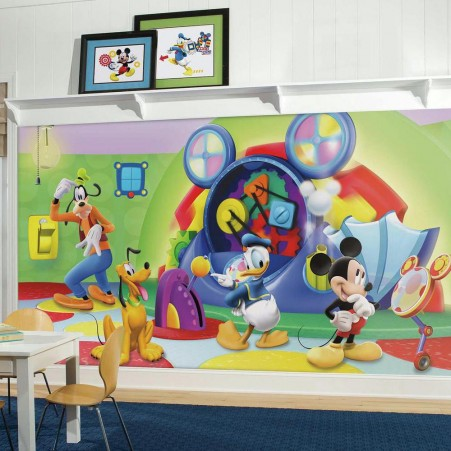 Mickey Mouse Clubhouse Capers XL Wallpaper Mural