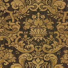 Milano Brown Damask