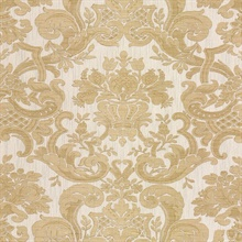 Milano Cream Damask