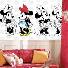 Minnie Rocks The Dots XL Wallpaper Mural
