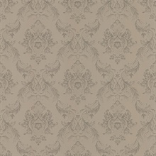 Monique Taupe Damask