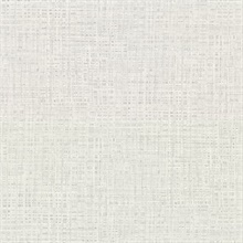 Montgomery Grey Faux Grasscloth Vinyl Wallpaper
