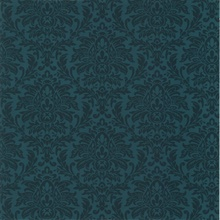 Morgan Blue Busy Damask