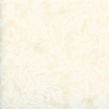 Morgan Cream Busy Damask