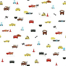 Multicolored Disney and Pixar Cars Racing Spot Wallpaper