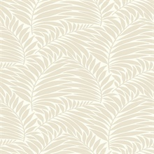 Myfair Cream Leaf Felt Texture