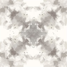 Mysterious Taupe Abstract Wallpaper