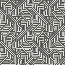 Nambiti Black & White Geometric Wallpaper