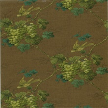 Napa Valley Brown Grape Toile