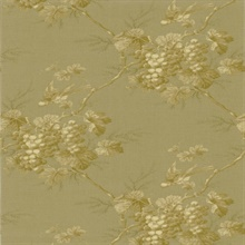 Napa Valley Gold Grape Toile