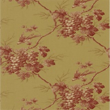 Napa Valley Rust Grape Toile