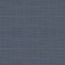 Navy Blue Abstract Weave Texture Wallpaper