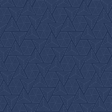 Navy Blue Triangle Geometric Shapes Wallpaper