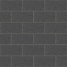 Neale Black Subway Tile Wallpaper