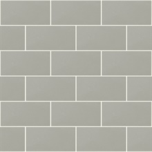 Neale Light Grey Subway Tile Wallpaper