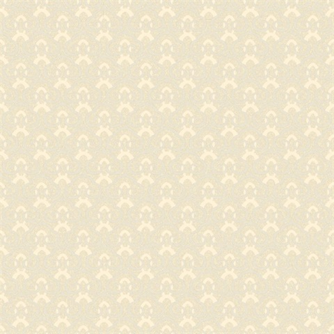Nemo Yellow Faux Fishscale Texture Wallpaper