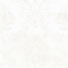 Neutral Brixham Raised Damask