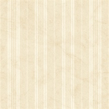 Neutral Farmhouse Stripe Wallpaper