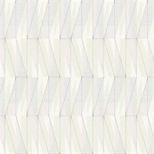 Neutral On An Angle Geometric Wallpaper