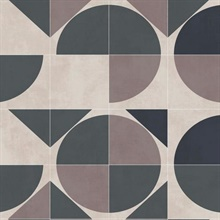 Neutral Radius Geometric Wallpaper