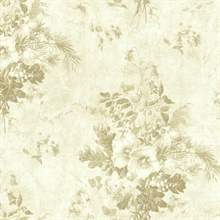 Neutral Rose Toile