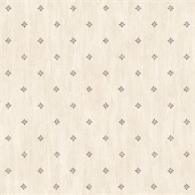 Neutral Stencil Starburst Wallpaper