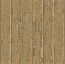 Neutral Weathered Clapboards Wallpaper
