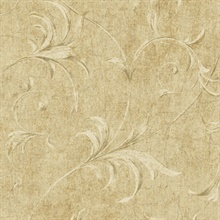 Neutrals Ogee Acanthus Scroll