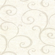 Newbury Cream Geometric Faux Plaster Vinyl Wallpaper