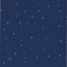 Night Sky Blue Stars Wallpaper