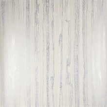 Nova Platinum Faux Wood Wallpaper