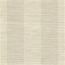 Oakland Taupe Grasscloth Stripe