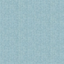 Oasis Turquoise Linen Wallpaper