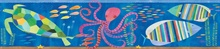 Ocean Samantha Ocean Rainbow Sea Critters Border