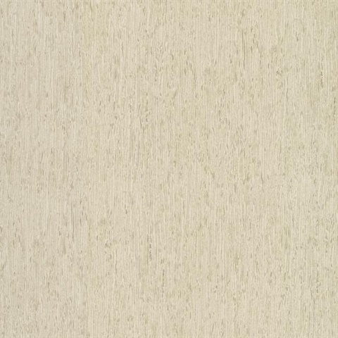 Off White Rugged Faux Tree Bark Wallpaper