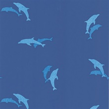 Opo Blue Dolphins Wallpaper