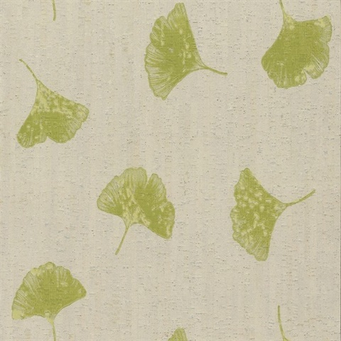 Organic Cork Prints Gingko
