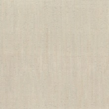 Pearl Plain Bamboo Textured Cork Wallpaper