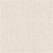 Oriel Cream Fine Linen Wallpaper