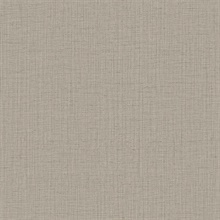 Oriel Grey Fine Linen Wallpaper