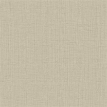 Oriel Light Brown Fine Linen Wallpaper
