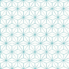 Orion Turquoise Geometric