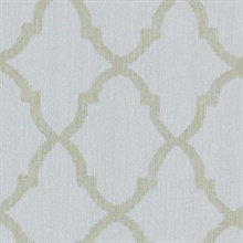Oscar Light Blue Fretwork