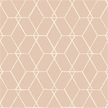 Osterlen Light Pink Trellis Wallpaper