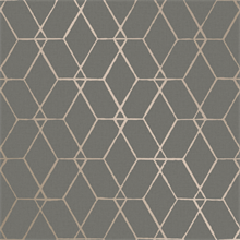 Osterlen Taupe Trellis Wallpaper